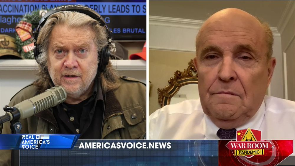 War Room Pandemic with Stephen K Bannon Episode 625 Part 3 With Rudy Giuliani