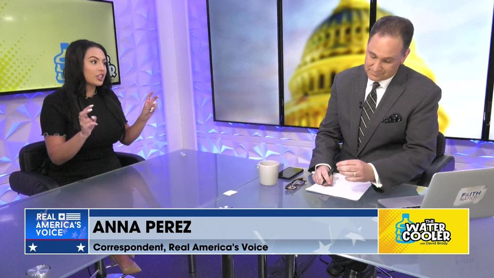 Anna Perez, Real America's Voice Correspondent