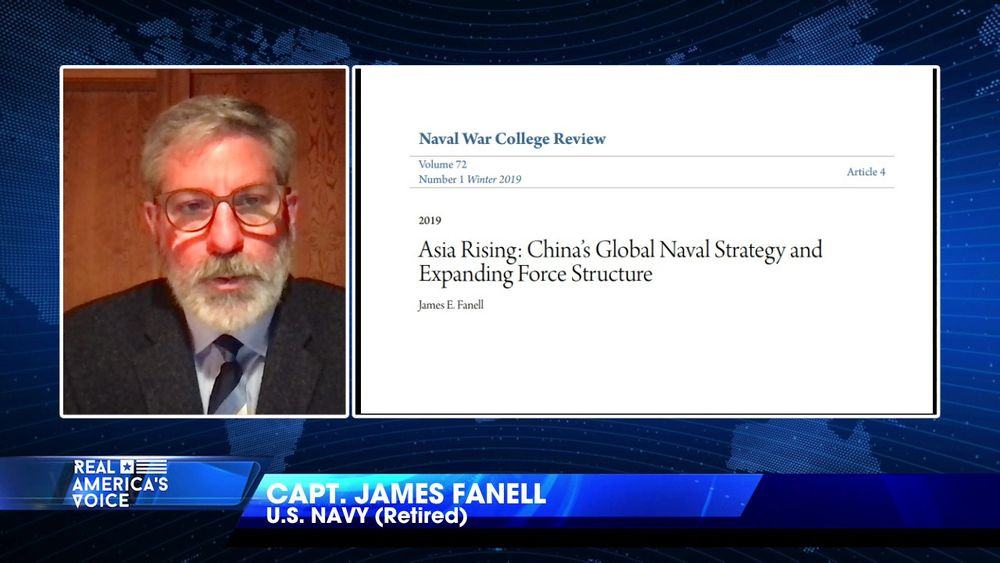 Capt. James Fanell explains China's military ambitions