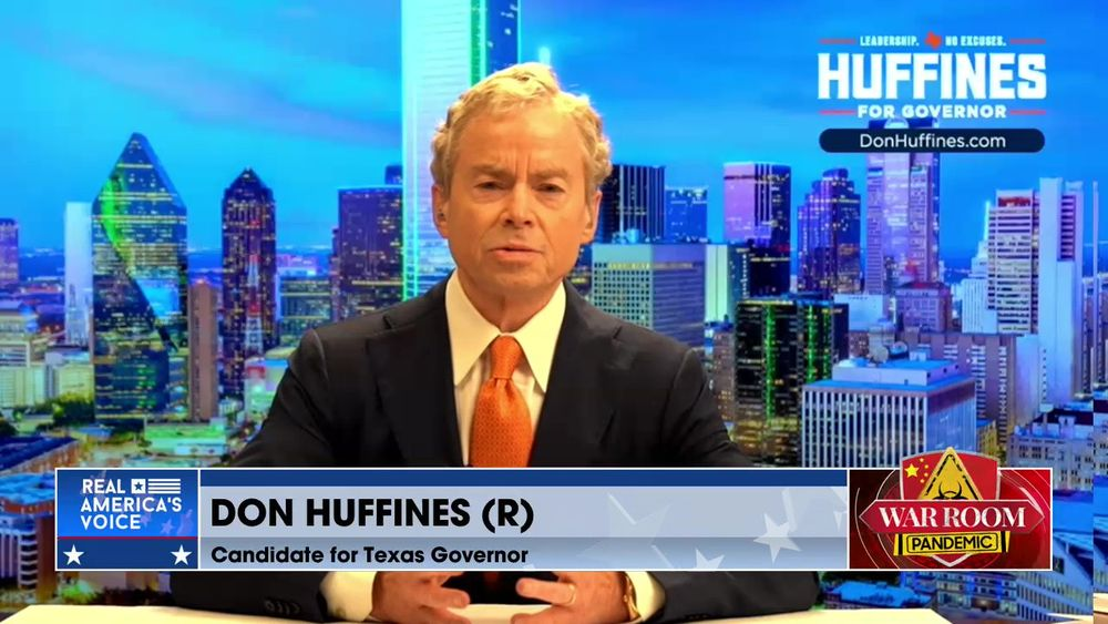 Patrick Wood Talks on Technocracy and Don Huffines Talk on his Candidacy