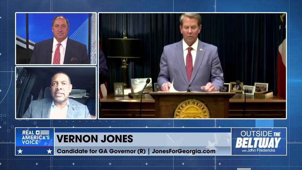 Vernon Jones Rips GA Gov Kemp Over Afghanistan Refugees