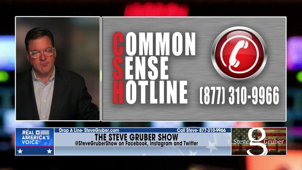 Steve opens up the Common Sense Hotline July 20 2021 Part 1