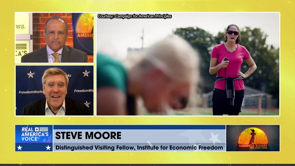Aubrey Shines is Joined by Institute for Economic Freedom's Steve Moore.
