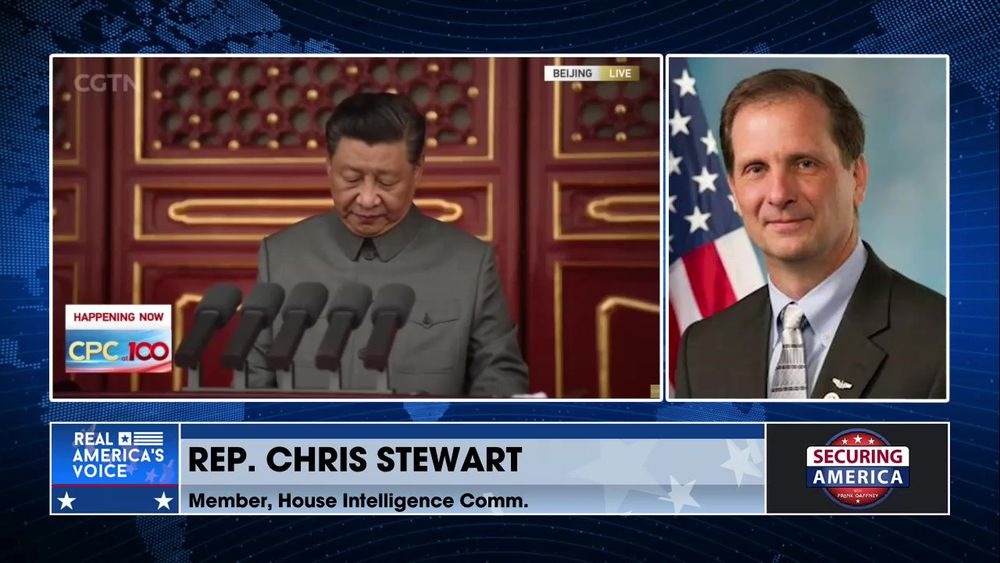 Rep. Chris Stewart talks about Chinese influence operations within the U.S.