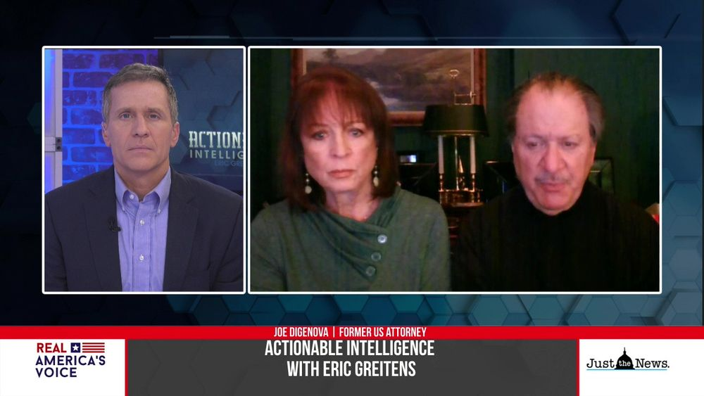 Eric Greitens and Actionable Intelligence speaks with Joe Digenova and Victoria Toensing