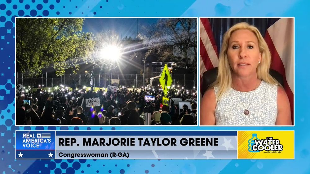 "Congresswoman Marjorie Taylor Greene R-G.A. on Maxine Waters: Does she want a ""race war"" in America?"