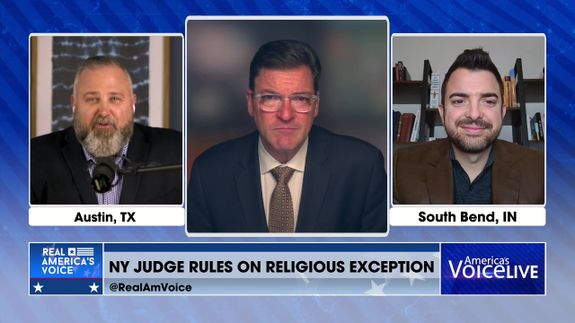 Pastor Brian Gibson and Lucas Miles Join to Discuss Vaccine Mandates
