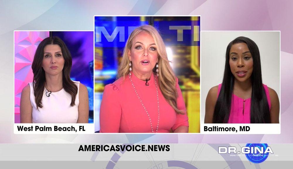 Erin Elmore and Kim Klacik Join Dr. Gina Live