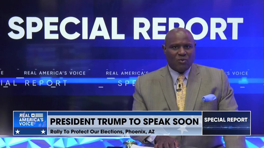 President Trump and Turning Point USA Hold a Rally in Arizona Part 7
