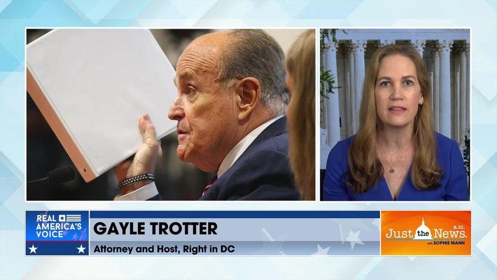 Gayle Trotter, Attorney - DOJ targeting Giuliani and Trump associates for exposing Hunter Biden