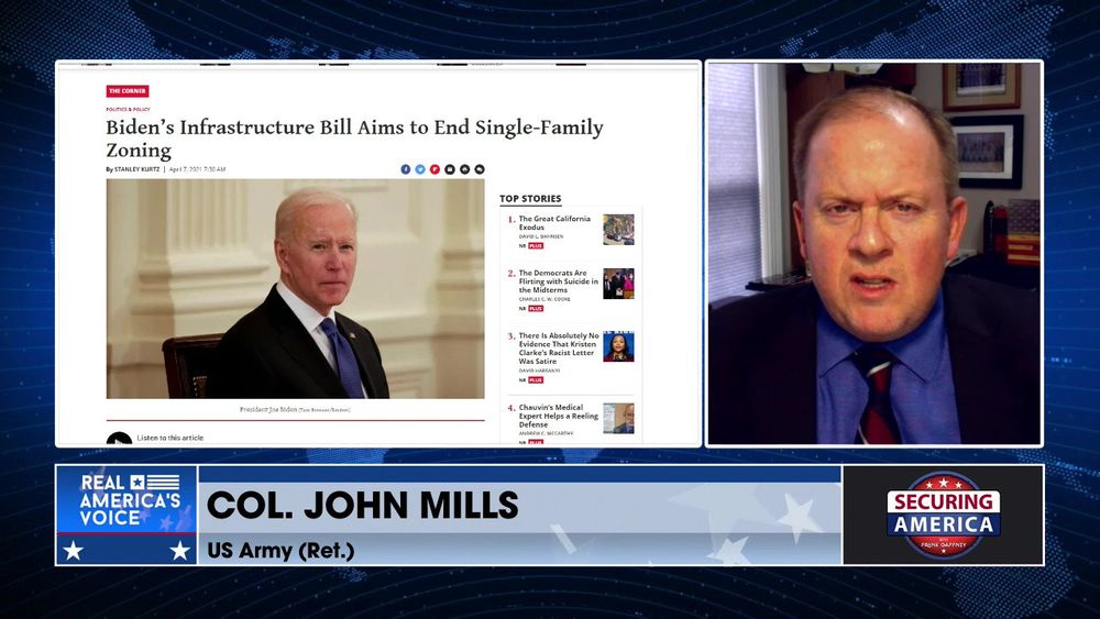 Col. John Mills discusses the American Left's mission to destroy the suburbs