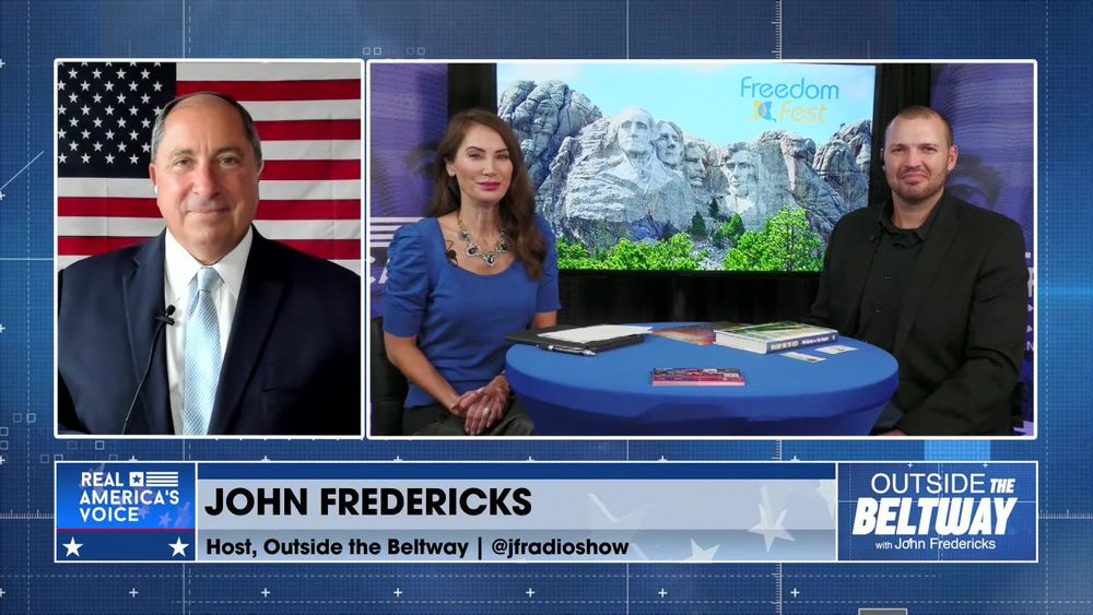 John Fredericks is Joined By Real America's Voice Correspondents, Amanda Head and Ben Bergquam