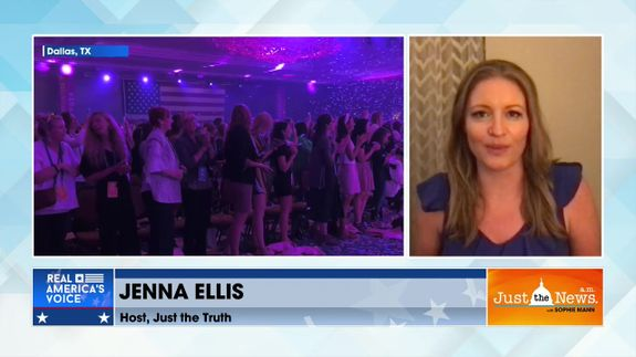 Jenna Ellis - Turning Point USA Women's Leadership Forum takes place over weekend in Dallas, TX