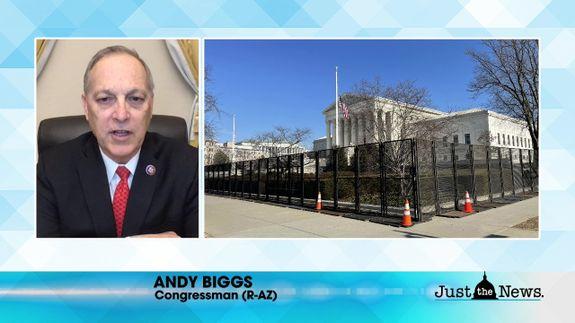 Rep. Andy Biggs (R-AZ) - President Biden decision to halt border wall construction harms US security