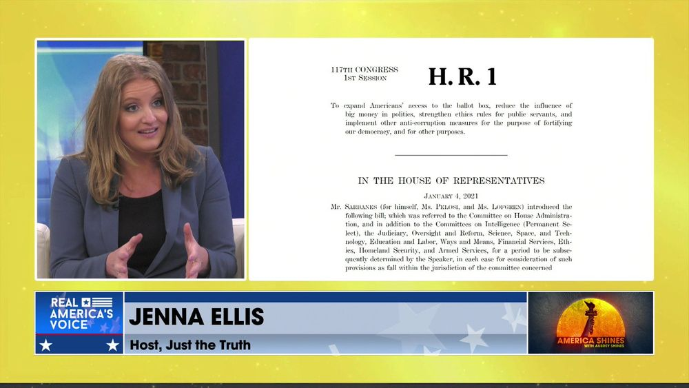 Aubrey Shines is Joined by attorney and host of Just the Truth, Jenna Ellis