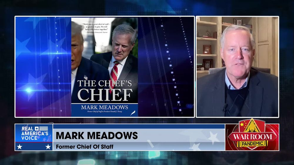Mark and Steve Shift the Discussion to Mark's New Book the Chief's Chief