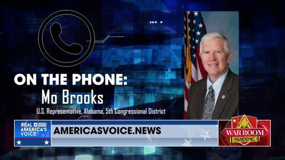 Congressman Mo Brooks Joins War Room to Discuss Trumps Endorsement of His Senate Run