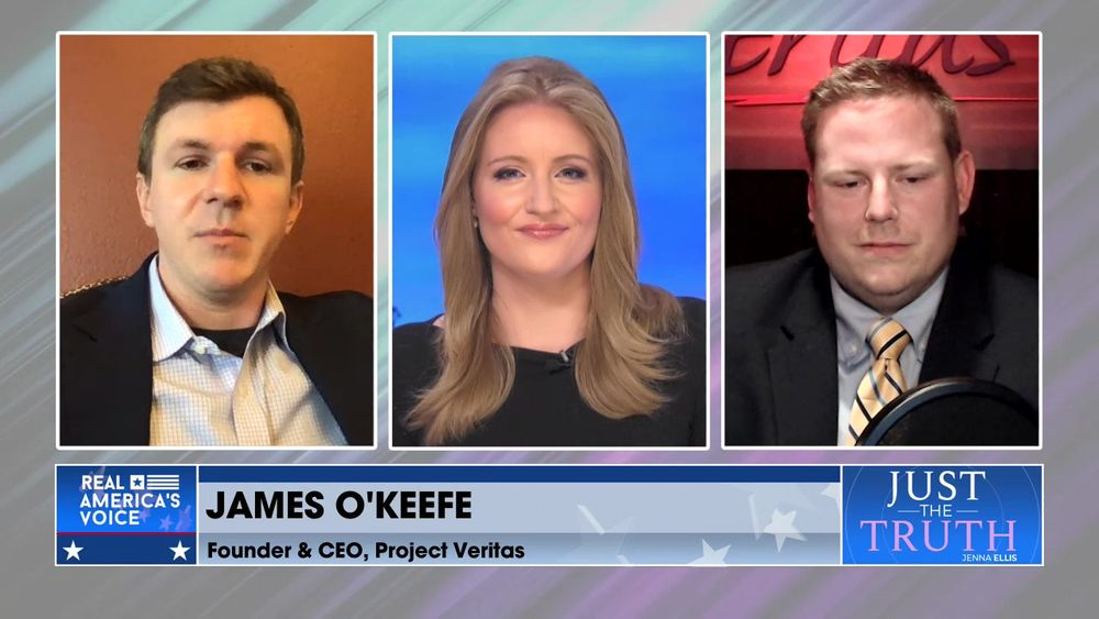 Jenna Is Joined By Project Veritas CEO & Founder James O'Keefe And Chief Legal Officer Jared Ede