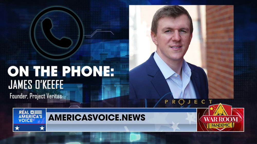 James O'Keefe Joins War Room to Discuss His Twitter Cancellation at the Hand of CNN