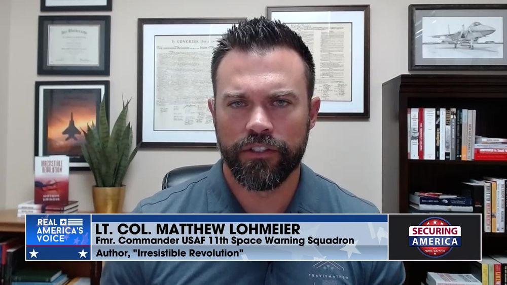 Lt. Col. Matthew Lohnmeier talks about Communist undertones within the U.S. military