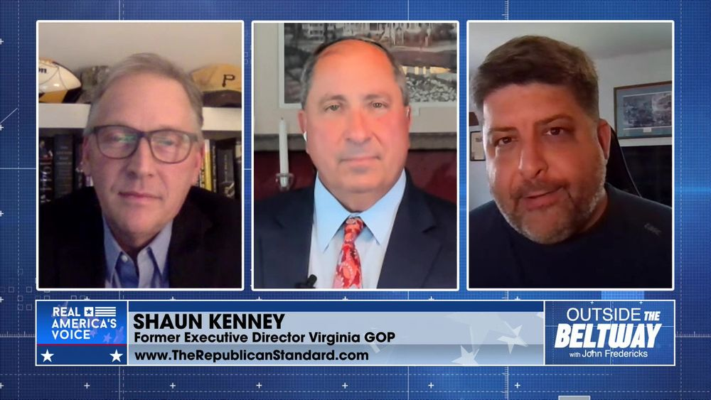 Shaun Kenney and Chris Saxman Joins To Talk About The Virginia Election