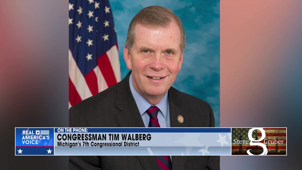 Congressman Tim Walberg April 16 2021