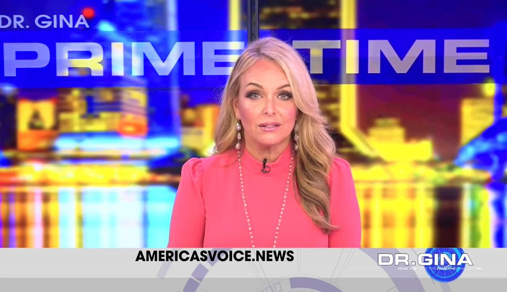 Brigitte Gabriel Joins Dr. Gina Live