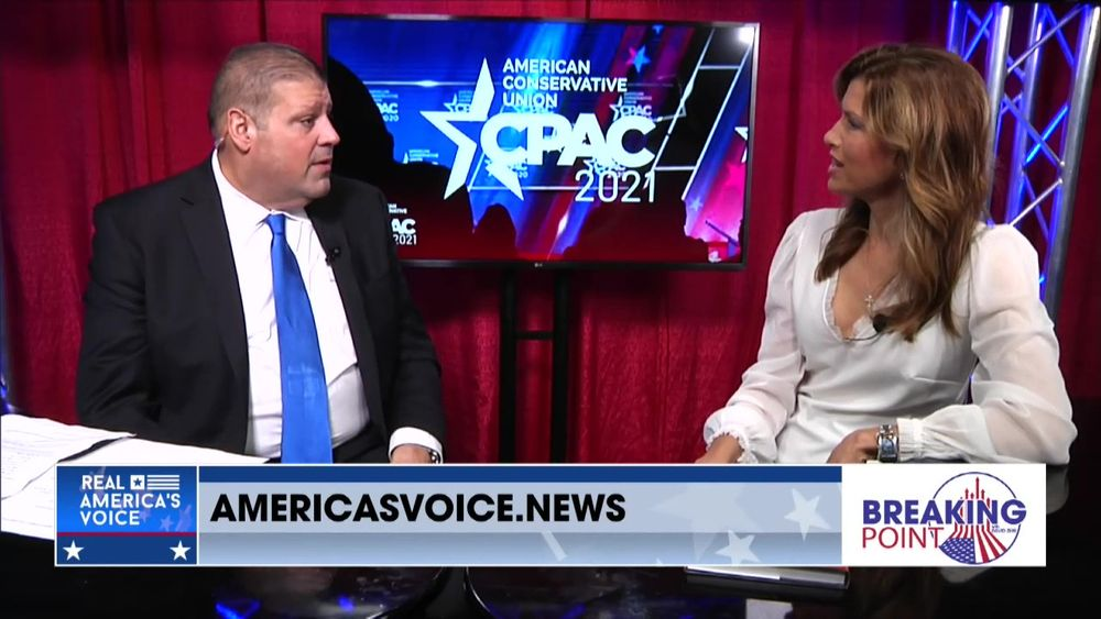 Sam Sorbo Joins Breaking Point With David Zere From CPAC 2021