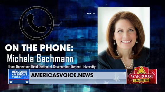 Michele Bachmann Joins Steve to Discuss the Tea Party Movement