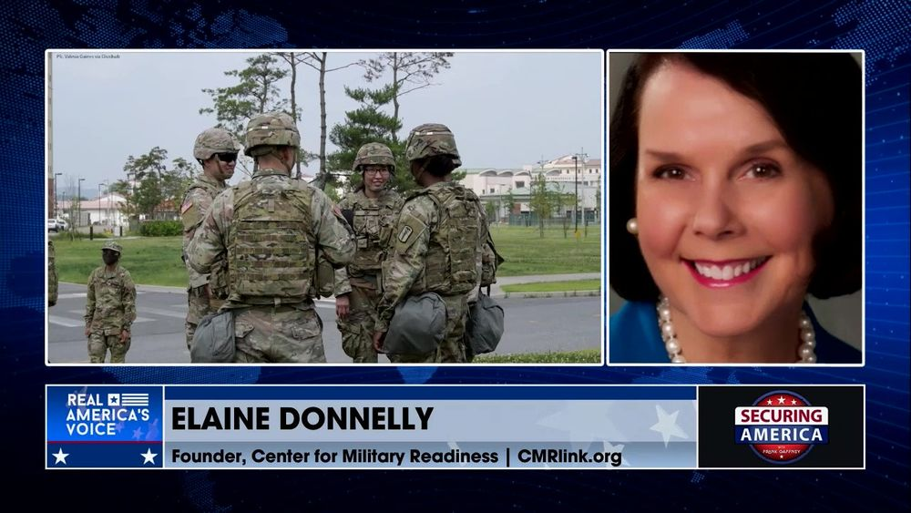Elaine Donnelly talks about the Left's woke agenda for the U.S. military