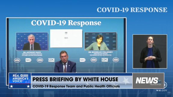 Live Press Briefing From The White House Covid-19 Response Team