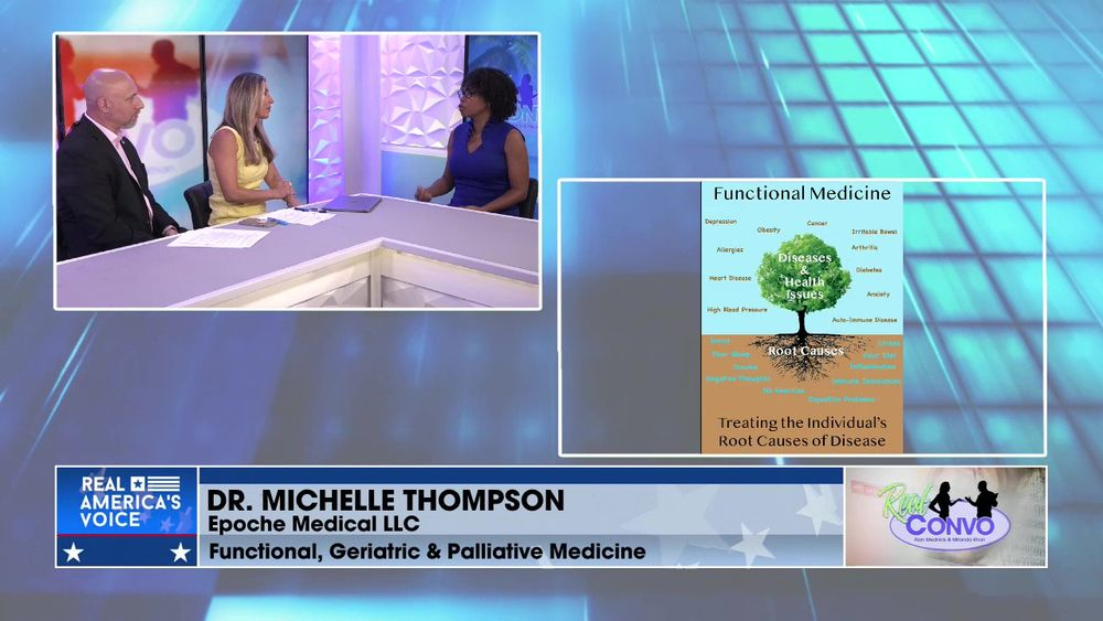 Real Convo With Miranda Khan & Alan Mednick - Dr. Michelle Thompson