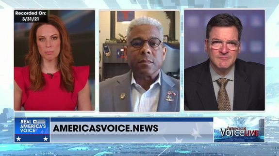 Jessica Goes to Tudor Dixon and Steve Gruber With Lt. Col. Allen West on Border Security