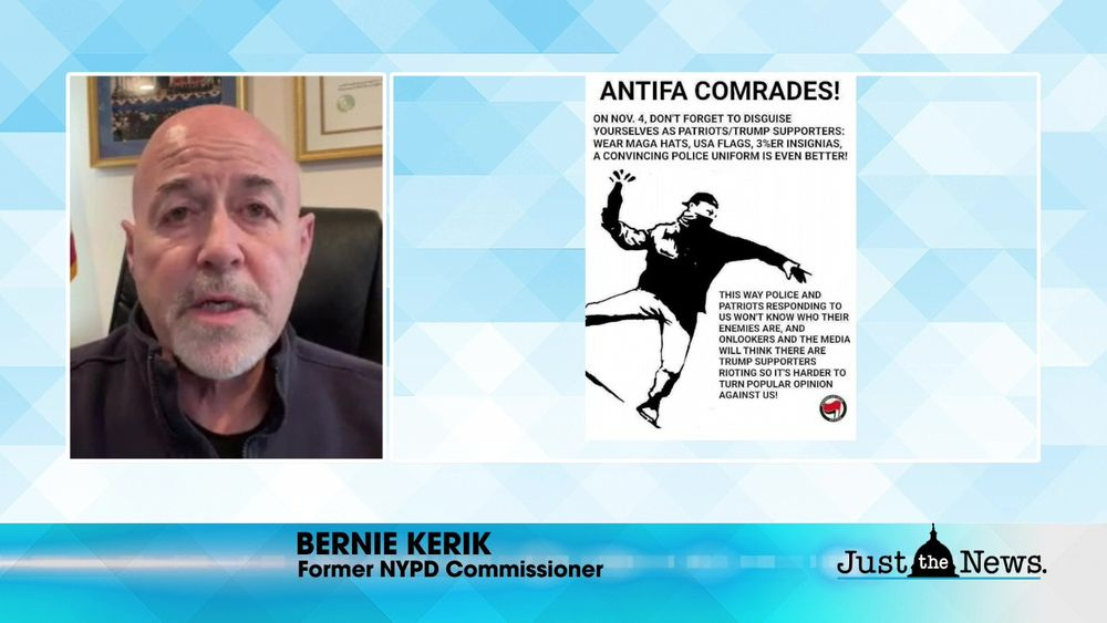 Bernie Kerik, Former NYPD Commissioner - Violence not all from Trump supporters