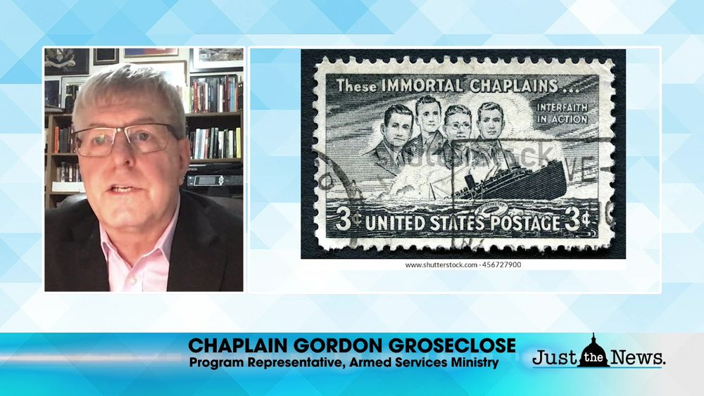 Chaplain Gordon Groseclose -  Four Chaplains Day, honoring 4 WWII veterans.
