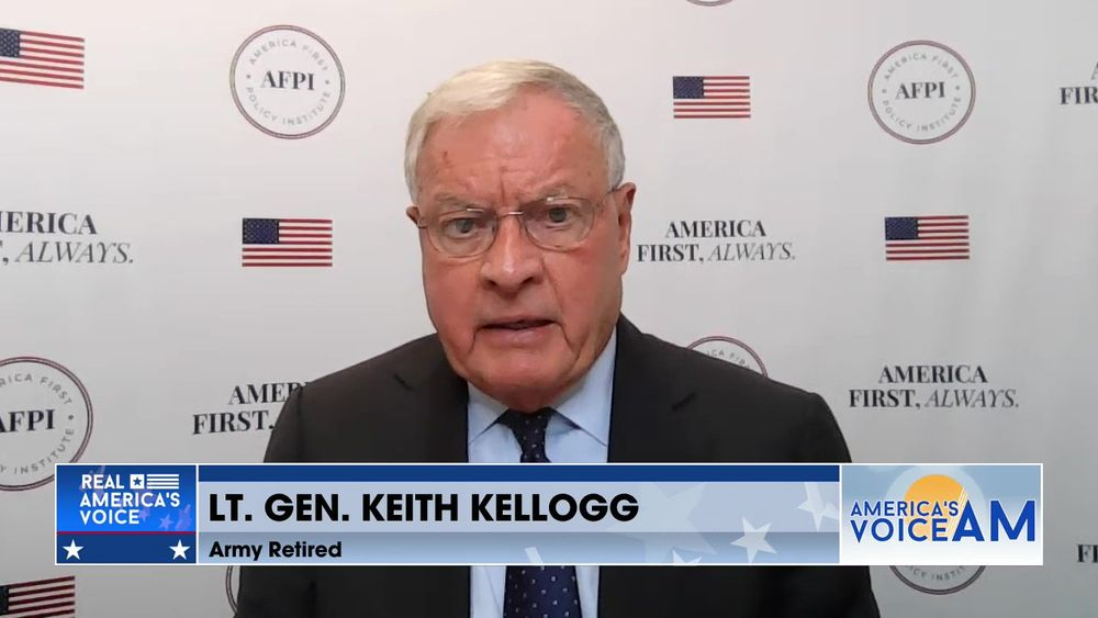 Lt. Gen. Keith Kellogg Explains How He Feels About The U.S. Pulling Out Of Afghanistan So Abruptly