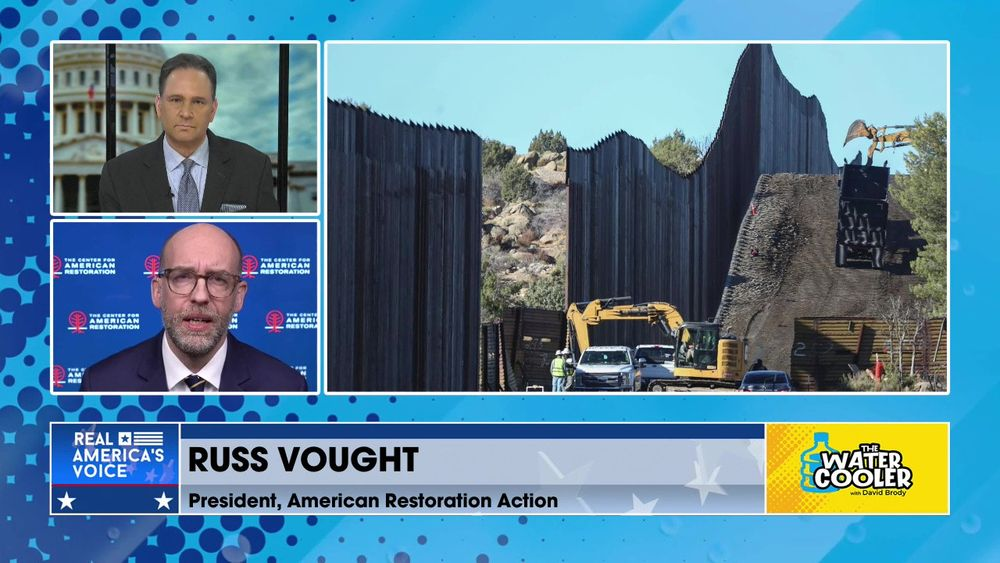 Russ Vought: Biden Administration Violating the Law on Border Wall