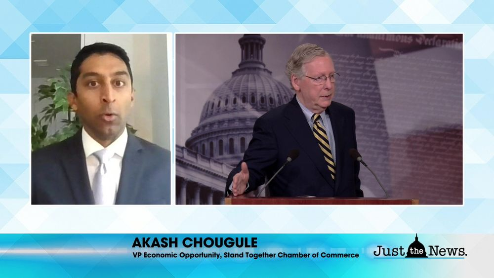 Akash Chougule, VP Standing Together Chamber of Commerce - Congress' unsustainable spending