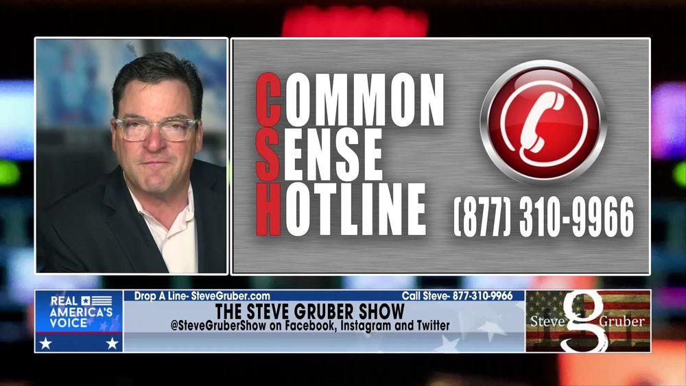 Steve opens up the Common Sense Hotline Part 1 July 14 2021