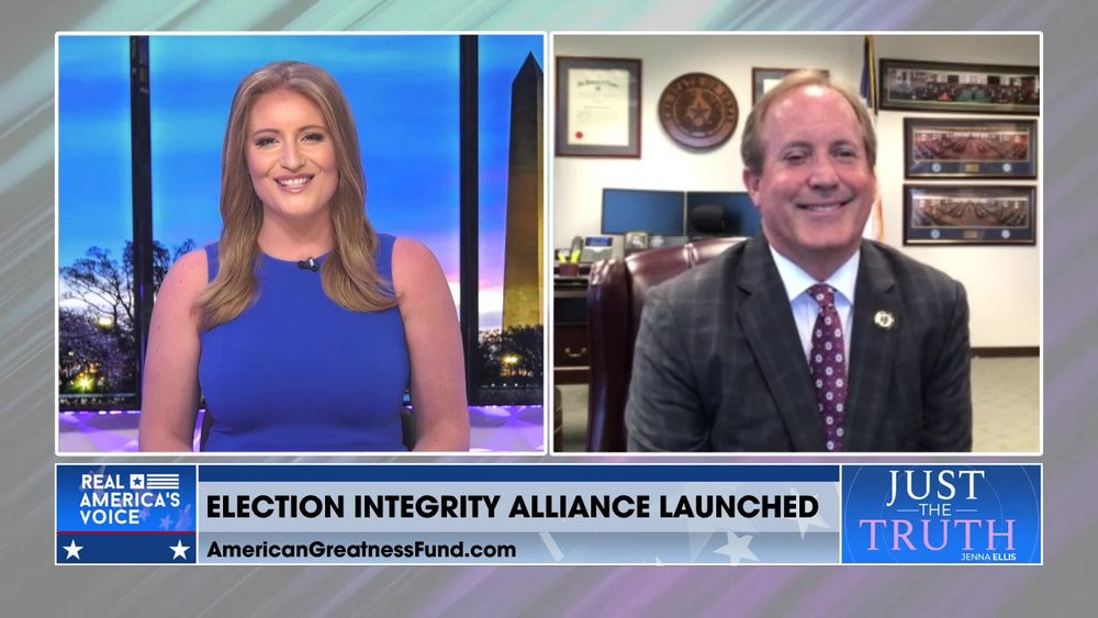 Ken Paxton, Co-Chair of The Election Integrity Alliance Joins Jenna