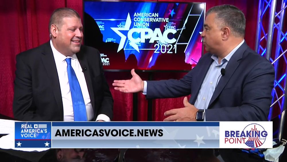 Dave Bossie Joins Breaking Point With David Zere From CPAC 2021