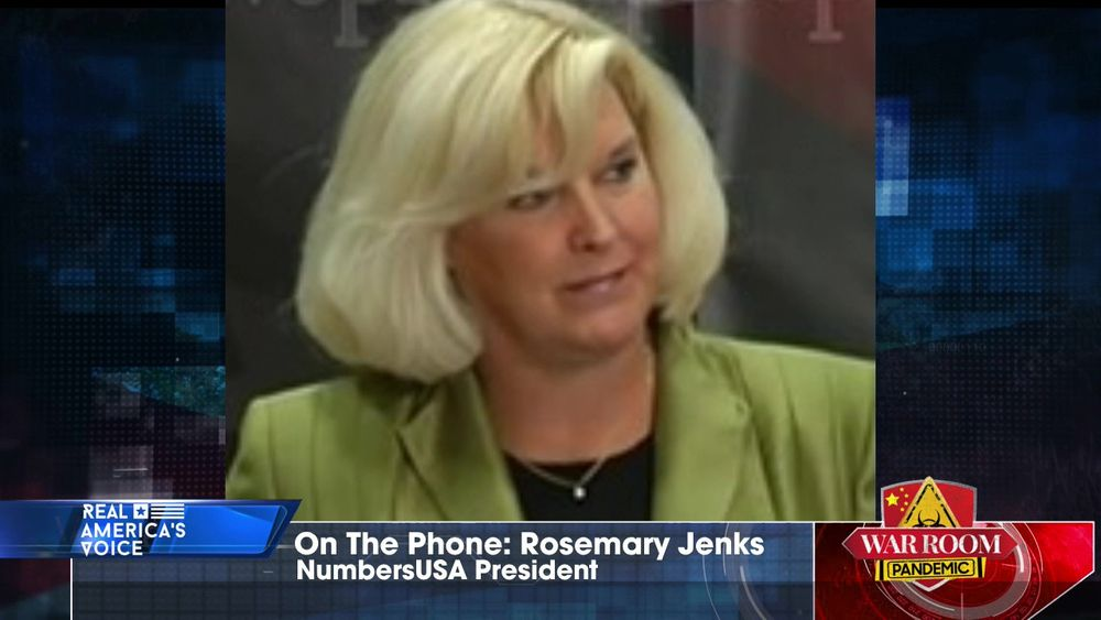 Rosemary Jenks Director of Government Relations at NumbersUSA