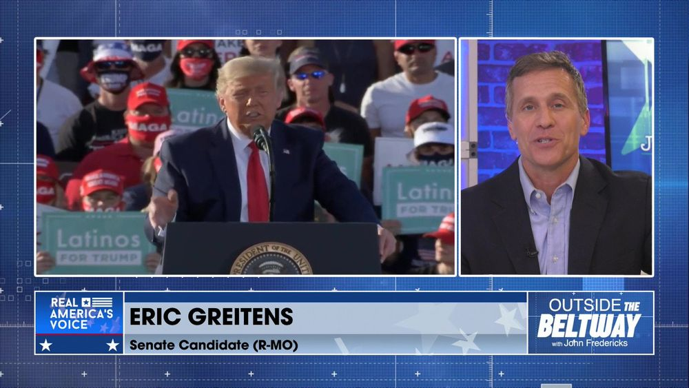 Eric Greitens Talks About His Announcement for Senate in Missouri