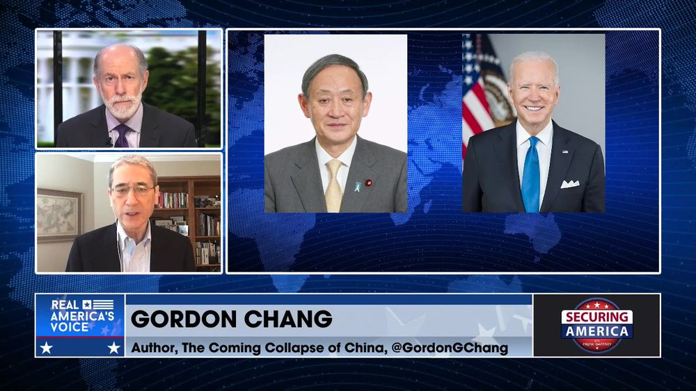 Gordon Chang talks about President Biden's meeting with Japanese PM Yoshihide Suga
