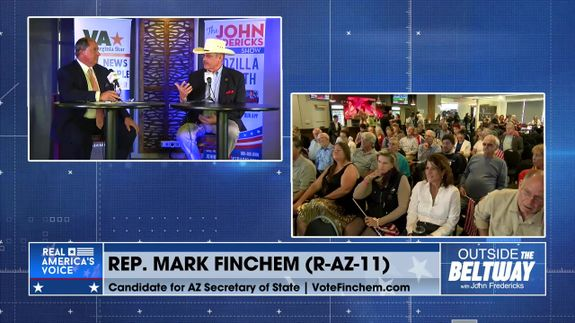 Mark Finchem, Candidate AZ Secretary of State; Fighting for Election Integrity