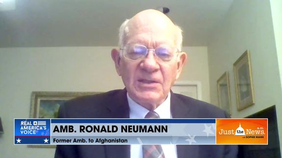 Amb. Ron Neumann - United States' rushed exit from Afghanistan is leading to problems on ground