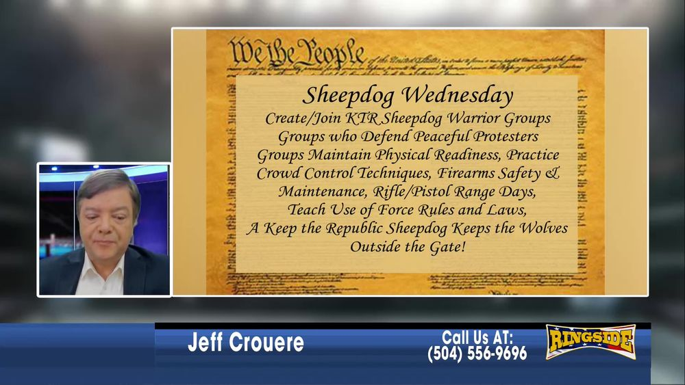 Jeff introduces The Keep The Republic Project January 6 2021