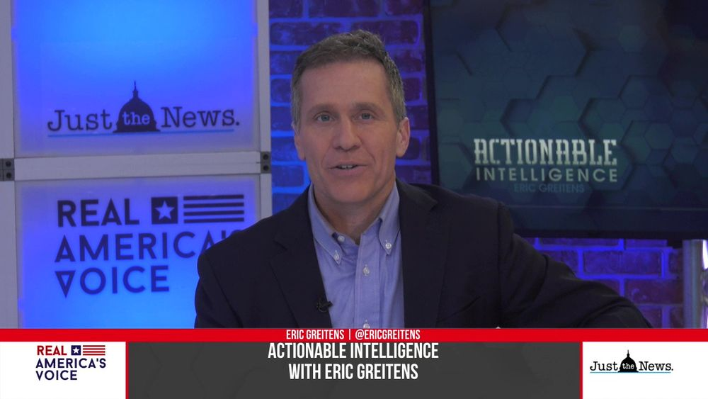 Eric Greitens speaks to Ryan Zinke Former U.S. secretary of the Interior