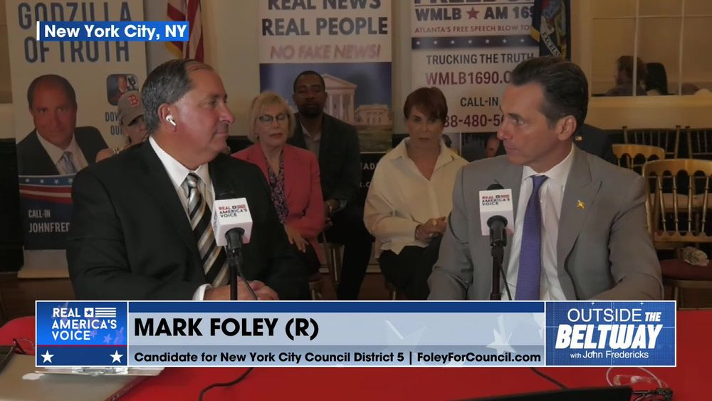 Mark Foley NYC Council Candidate; Stop The Insanity
