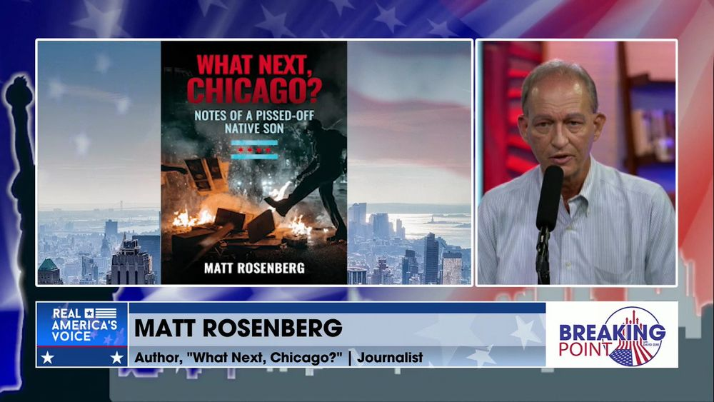 "David Zere Is Joined By Journalist & Author of ""What Next, Chicago?"", Matt Rosenberg Pt 2"